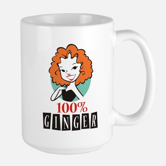 100% Ginger Large Mug