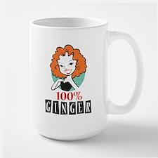 100% Ginger Mug