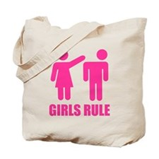 Girls Rule Tote Bag