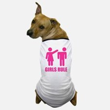 Girls Rule Dog T-Shirt