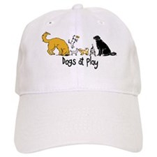 Dogs at Play Baseball Cap