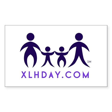 Simple Logo Sticker (Rectangle)