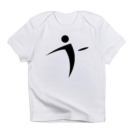 Nano Disc Golf BLACK Logo Infant T-Shirt