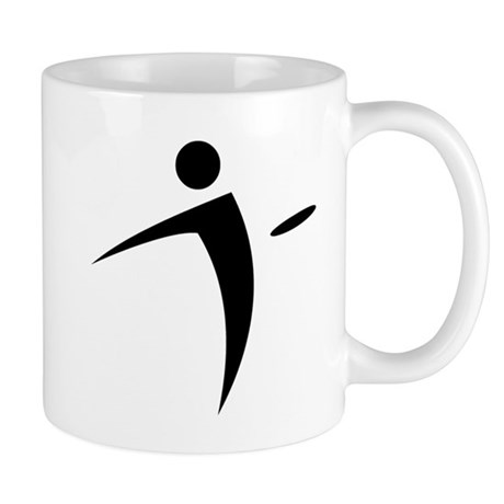 Nano Disc Golf BLACK Logo Mug