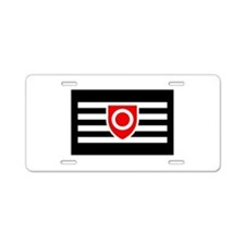 Ownership Flag - Aluminum License Plate