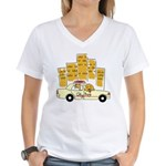 City Dog Women's V-Neck T-Shirt