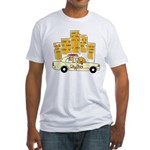 City Dog Fitted T-Shirt