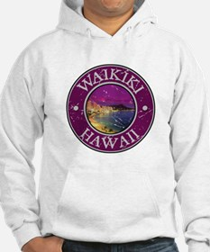 Waikiki, Hawaii Jumper Hoody