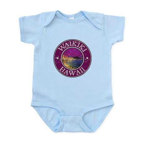 Waikiki, Hawaii Infant Bodysuit