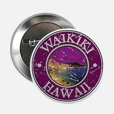 """Waikiki, Hawaii 2.25"""" Button"""