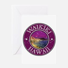 Waikiki, Hawaii Greeting Card