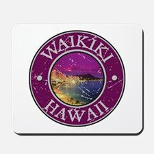 Waikiki, Hawaii Mousepad