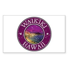 Waikiki, Hawaii Decal
