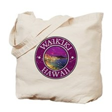Waikiki, Hawaii Tote Bag