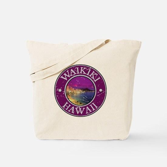 Waikiki, Hawaii Tote Bag