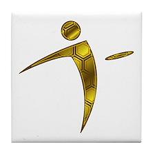 Nano Disc Golf HONEYCOMB Logo Tile Coaster
