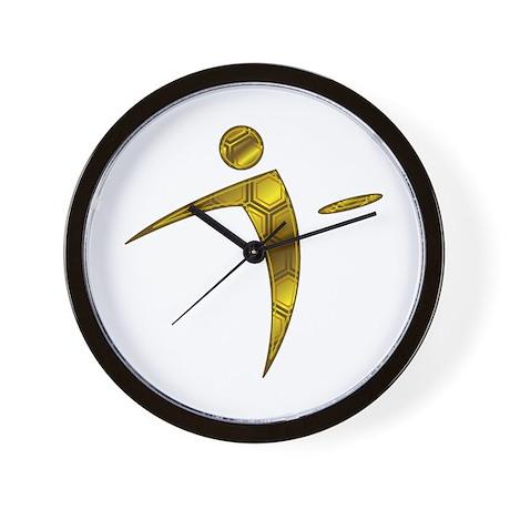 Nano Disc Golf HONEYCOMB Logo Wall Clock