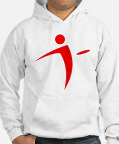 Nano Disc Golf RED Logo Hoodie