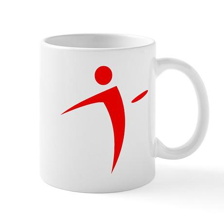 Nano Disc Golf RED Logo Mug
