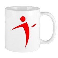 Nano Disc Golf RED Logo Mug
