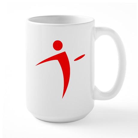 Nano Disc Golf RED Logo Large Mug
