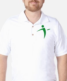 Nano Disc Golf GREEN Logo T-Shirt