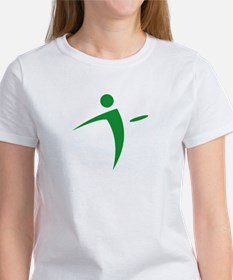 Nano Disc Golf GREEN Logo Women's T-Shirt