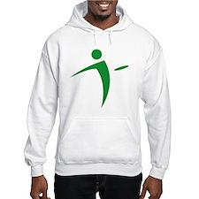 Nano Disc Golf GREEN Logo Hoodie