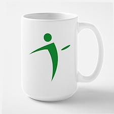 Nano Disc Golf GREEN Logo Mug