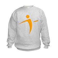Nano Disc Golf ORANGE Logo Sweatshirt