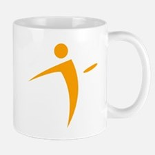 Nano Disc Golf ORANGE Logo Mug