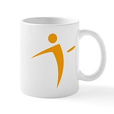 Nano Disc Golf ORANGE Logo Mug