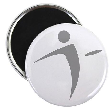 Nano Disc Golf GRAY Logo Magnet