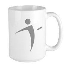 Nano Disc Golf GRAY Logo Mug