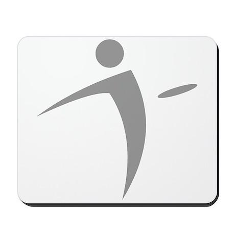 Nano Disc Golf GRAY Logo Mousepad