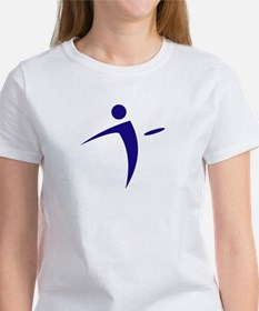 Nano Disc Golf BLUE Logo Women's T-Shirt