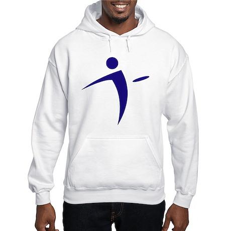 Nano Disc Golf BLUE Logo Hooded Sweatshirt