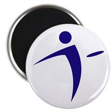 Nano Disc Golf BLUE Logo Magnet