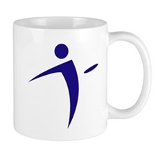 Nano Disc Golf BLUE Logo Mug