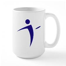Nano Disc Golf BLUE Logo Mug