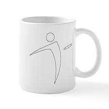 Nano Disc Golf WHITE Logo Mug