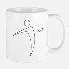 Nano Disc Golf WHITE Logo Mug