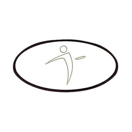 Nano Disc Golf GOLD TRIM Logo Patches