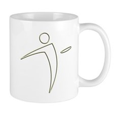 Nano Disc Golf GOLD TRIM Logo Mug