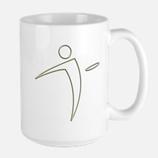 Nano Disc Golf GOLD TRIM Logo Mug