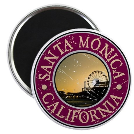 Santa Monica, California Magnet