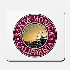 Santa Monica, California Mousepad