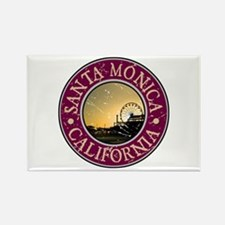 Santa Monica, California Rectangle Magnet