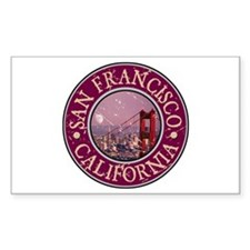 San Francisco, California Decal