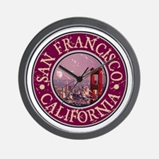San Francisco, California Wall Clock